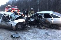 Смертельное ДТП в Башкортостане: ВАЗ на буксировке на встречке врезался в «Нексию»