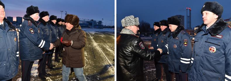 Минниханов вручил автомобили ГИБДД