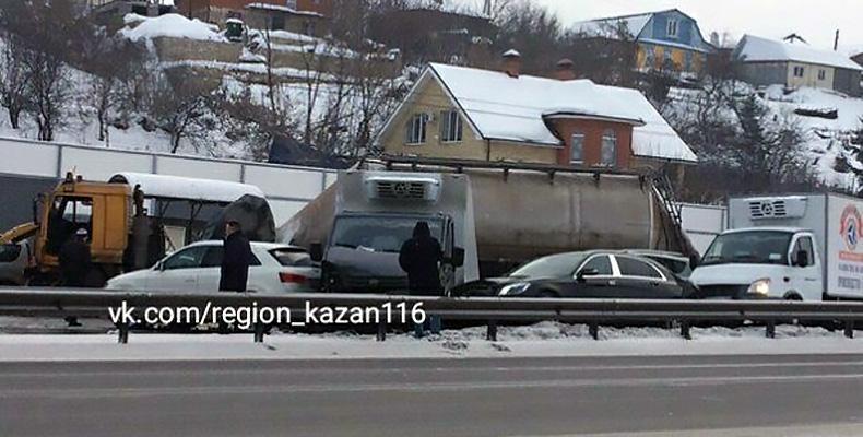 массовое дтп в Казани