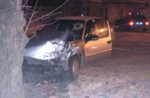 В Уфе пьяный водитель на «Нексии» врезался в дерево
