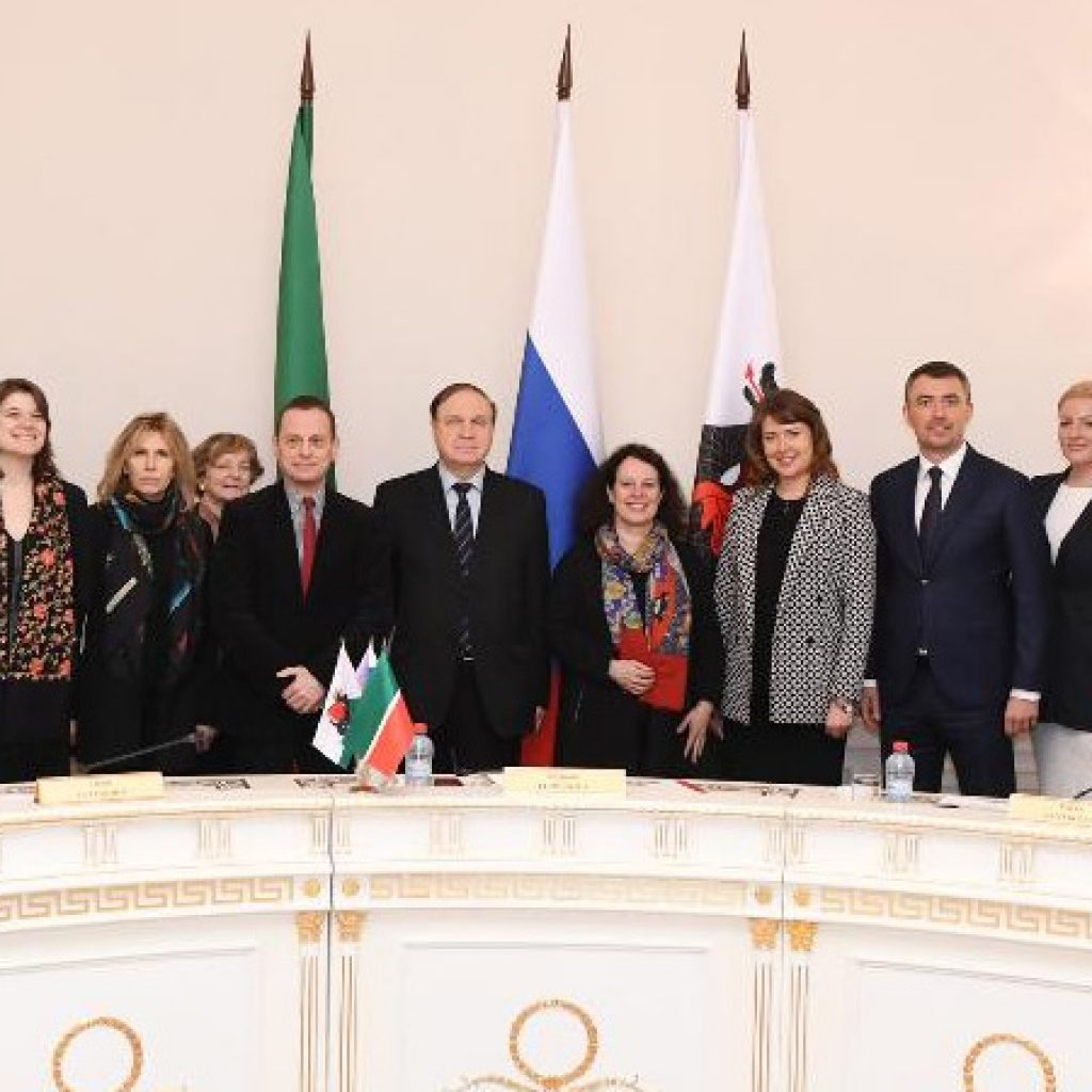 Сильви Берманн в Казани