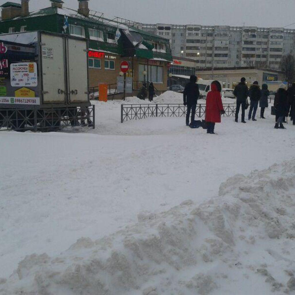 Заснеженная Казань