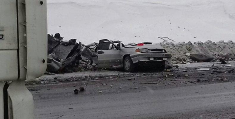 В Самарской области на трассе двое взрослых и ребенок погибли в ДТП