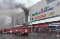 Женщина и трое детей погибли при пожаре в торговом центре в Кемерово