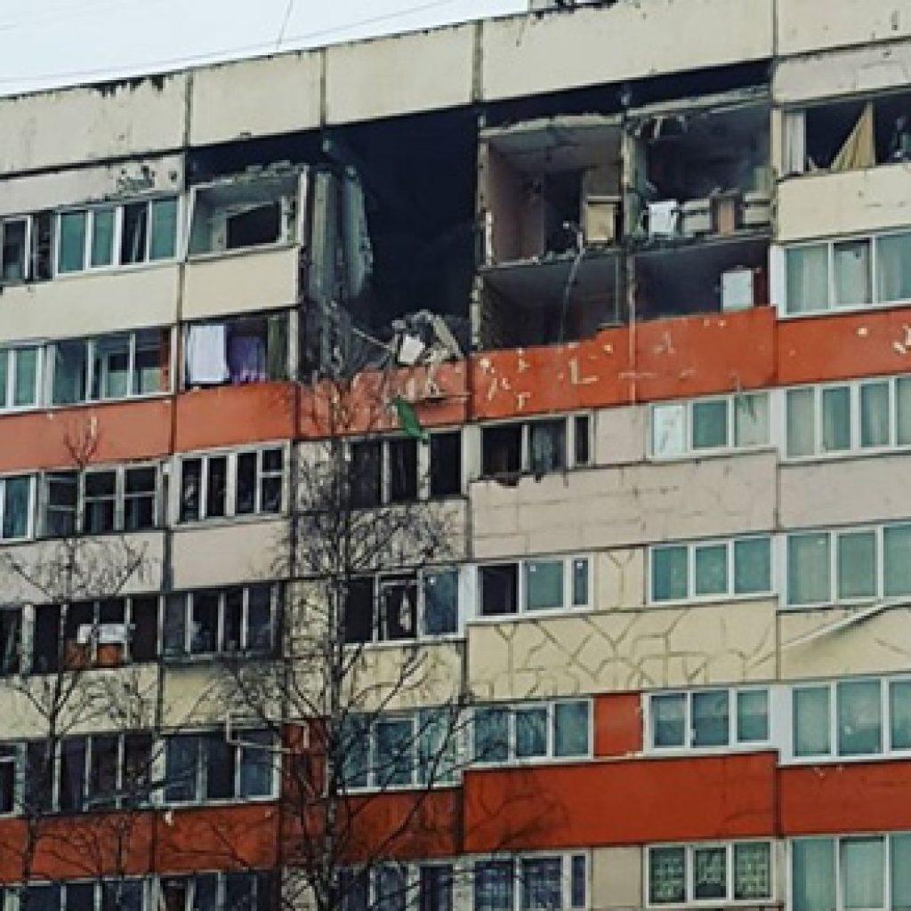 взрыв газа в Санкт-Петербурге
