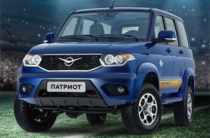 УАЗ создал «футбольный» Патриот за почти миллион рублей