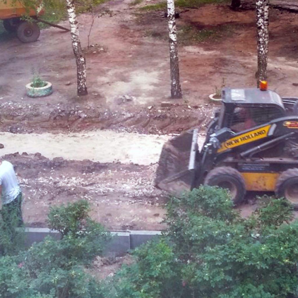 ремонт дворов в Казани