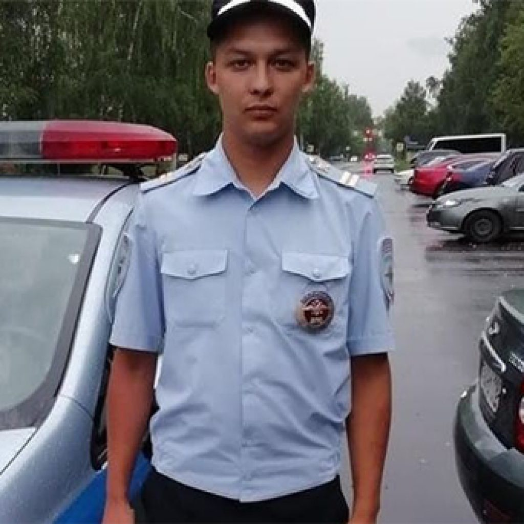 23-летний младший сержант ДПС Радик Салимов