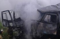 В Татарстане столкнулись после чего загорелись УАЗ и «Форд», погибли четыре человека