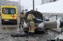 В Казани при столкновении двух «Ниссанов» погиб один из водителей