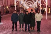 Итальянская компания украсила улицу Баумана и набережную Кабана к новому году