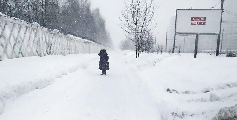 В Казани прогнозируется метель, сильный ветер и гололед