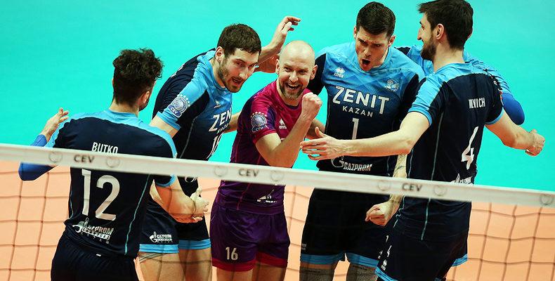 «Зенит-Казань» вышел в финал Лиги Чемпионов, выбив «Перуджу» с Леоном