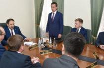 Алексей Песошин представил Айрата Хайруллина коллективу Министерства информатизации и связи РТ