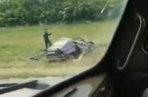 Девушка и 5 месячный малыш погибли в ДТП на трассе в Татарстане