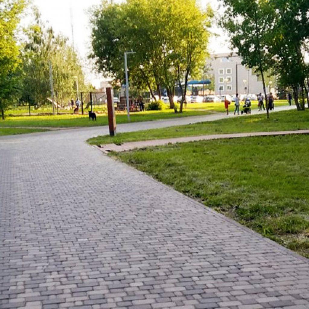 Парк на Мавлютова в Казани