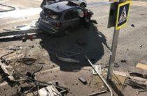 Появилось видео момента аварии с BMW на Булаке