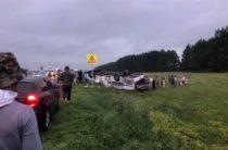 Задержан водитель автобуса, перевернувшегося вчера в Башкирии, где погибли 6 человек