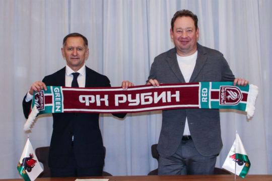 «Рубин» официально объявил со подписании контракт о Слуцким на 5 лет