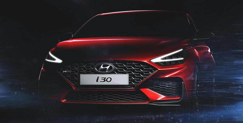 Hyundai опубликовала изображения обновленного i30