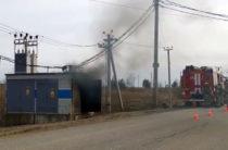 Из-за пожара на трансформаторной подстанции Салмачи частично остались без электричества