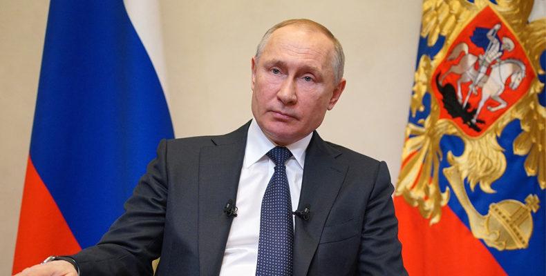 Владимир Путин готовится к новому обращению к нации
