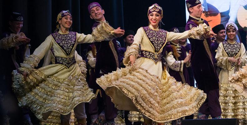 Государственный ансамбль песни и танца Республики Татарстан в тройке лучших театров танца России