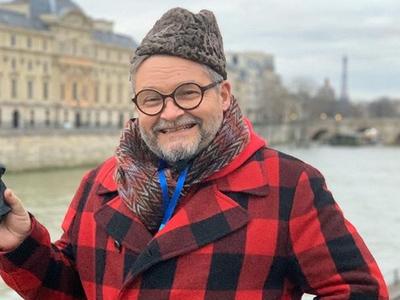 историк моды и телеведущий Александр Васильев