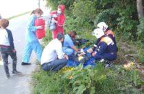 В Горкинско-Ометьевском лесу ребенок на велосипеде упал с моста в овраг