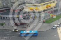В Москве создатель сайта «Зайцев.нет» на Ferrari врезался в автобус (Видео)
