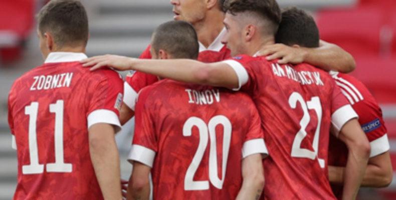 Сборная России обыграла Венгрию в Лиге наций