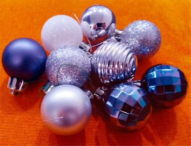 Елочные игрушки, новый год