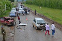 Водитель «семерки» погиб в лобовом столкновении с «Калиной» в Башкирии