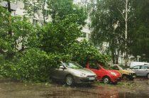 Непогода в Челнах: Затоплены улицы и проспекты
