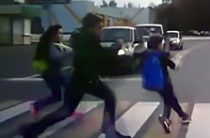 В Татарстане водитель «Гранты» сбил трех школьников на зебре