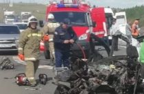 В Самарской области КАМАЗ раздавил «Гранту». Погибли двое взрослых и двое детей