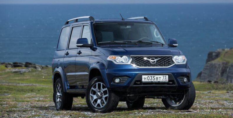 Бельгийский дилер УАЗ опубликовал цены на «Патриот» с АКП