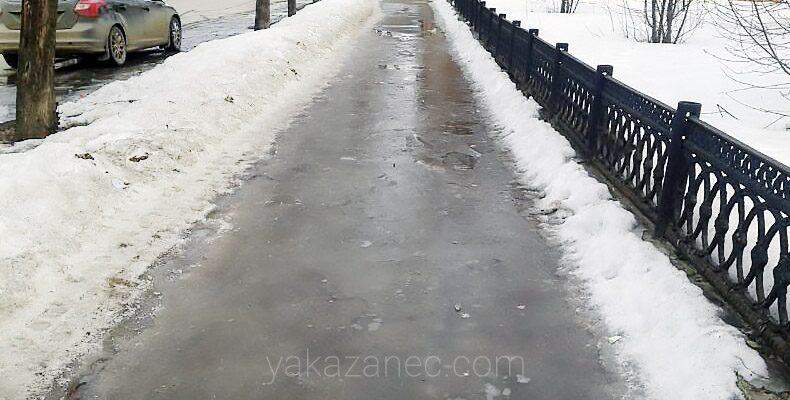 ГИБДД предупреждает о плохих погодных условиях в Татарстане