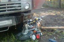 14-летняя девочка на мотоцикле серьезно пострадала в ДТП в Ульяновской области