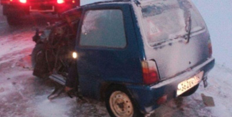 В Нурлатском районе водитель «Оки» погиб в ДТП с трактором