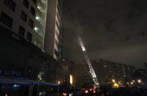 В Москве при пожаре в жилом комплексе пострадали более 30 человек