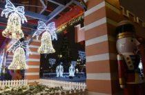 Около 300 тысяч человек посетили Кремлевскую набережную Казани в новогодние праздники
