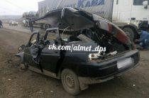 В Татарстане 21-летняя автоледи погибла в ДТП с фурой