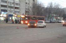 В Казани столкнулись две «Лады»