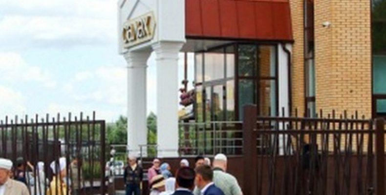 В Казани на Мамадышском тракте открылась новая мечеть «Салях»