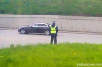 В Казани задержан водитель с поддельными правами