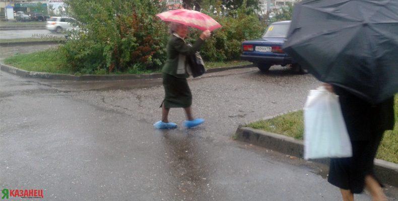 В Казани 16 августа прогнозируют дождь с грозой