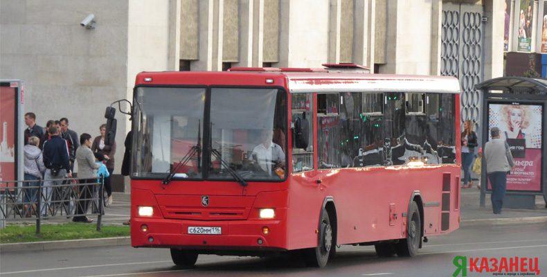 Общественный транспорт Казани 4, 5 и 6 ноября будет работать по графику выходного дня