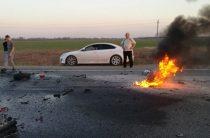 В Ульяновской области в крупном ДТП погибли два мотоциклиста и водитель авто