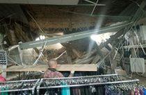 В одном из торговых центров Чистополя обрушился потолок (Фото)